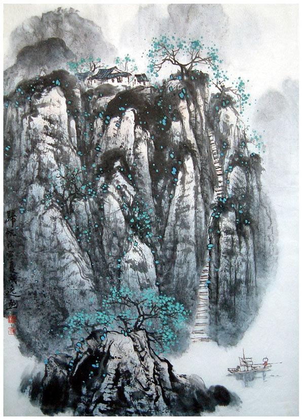《中国现代美术全集·中国画·山水卷》孙其峰 - 尔东先生 - 尔东先生 DE......空间