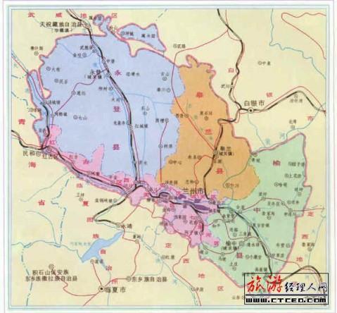 武威地图全图高清版