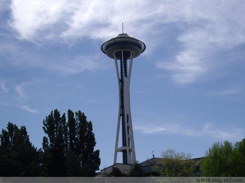 到西雅图观光(1):标志性建筑---太空针塔 - 阳光月光 - 阳光月光