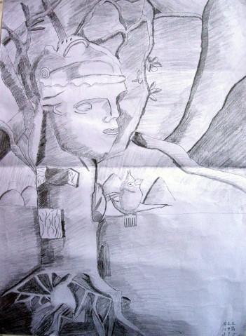 创意素描作品 - yzarts的日志图片