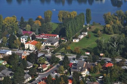 从多瑙塔鸟瞰多瑙河 - 陶东风 - 陶东风