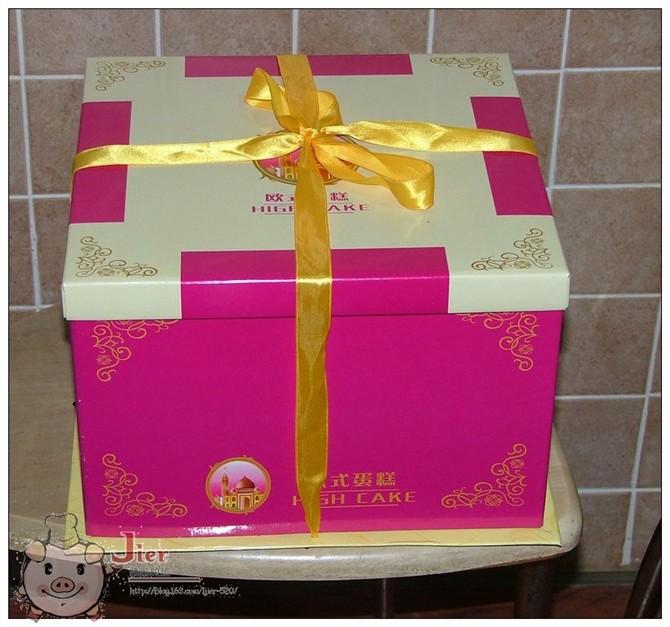 白利甜酒芝士蛋糕 - 快乐的猪 - 一个小女人的幸福生活