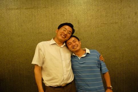 贾卧龙:我与北京万科新掌门人——毛大庆先生在一起 - 贾卧龙 - 贾卧龙博士的博客