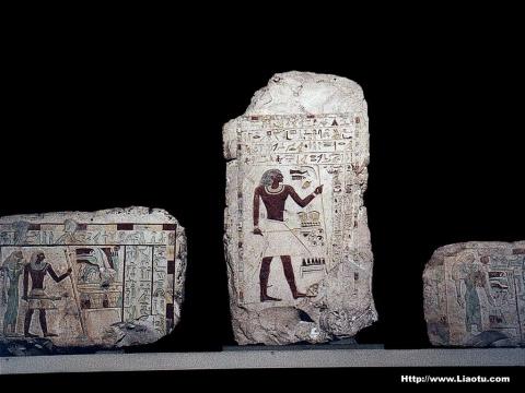 古埃及雕刻艺术图片