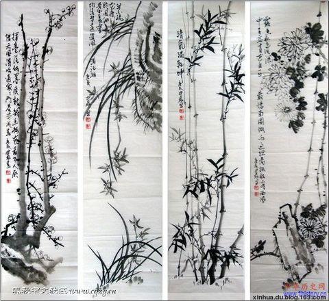 (兴华原创)七律·梅 - 兴华 - 大漠雄鹰之洲