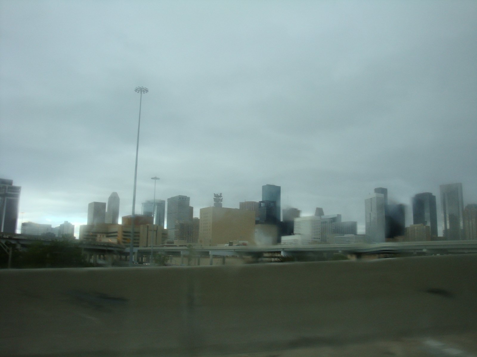 Houston in Rain
