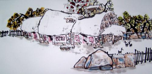 乡村记忆系列(二十九)2008/04/25 书画家罗伟 - 新浪BLOG - 书画家罗伟 - 书画家罗伟的博客