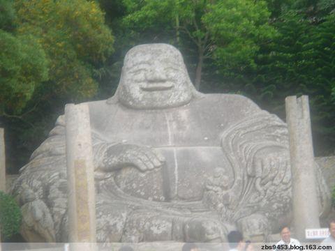 弥勒石像(七绝) - 叠趣庐主 - 叠趣庐主