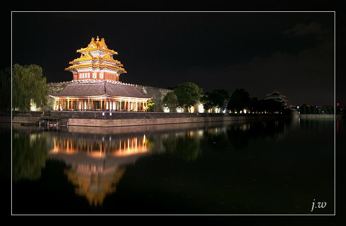 夜降紫禁城(原创摄影) - 冰滴卡布 - l-j-wei的个人主页