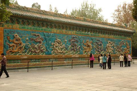 [摄影原创]最华丽的影壁--九龙壁 - hitcdw - hitcdw摄影、旅游