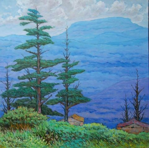 缤纷、绚烂的华彩乐章 ——读莫大林风景油画近作    - 范达明 - 范达明的博客