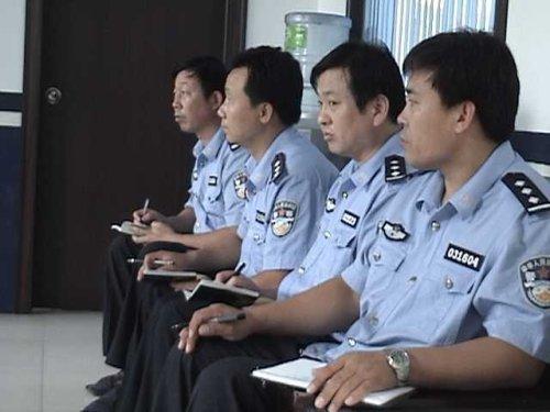 邢台市巡警特警支队副支队长张广奎到沙河市大队调研三基建设情况 - xt5999995 - 赵文河的博客