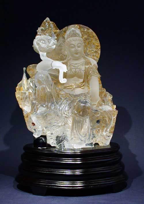 玉石雕刻 图片(二) - 玉牡丹 - 玉牡丹