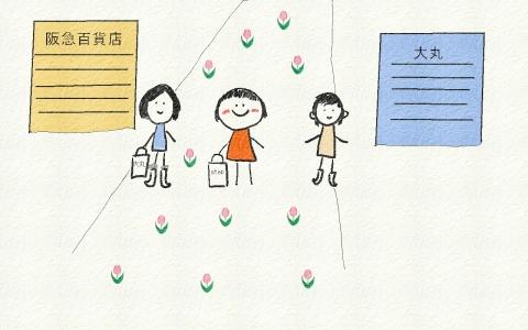 梅田果然不同凡响  - hong--成功日语 - 成功日语--学习日语走向幸福人生