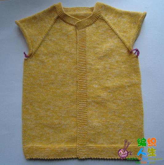引用 转载:超简单从上往下织开衫的方法(新增加针图解 - 心禾 - 心禾温馨小屋