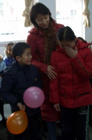 爱心家庭活动之二--见面 - 张老师 - 张老师的博客