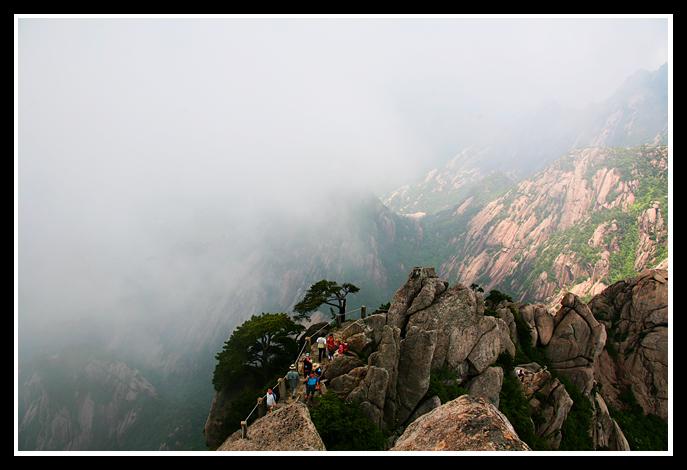 (原摄)黄山云海 - 照看天下 - 照看天下的博客