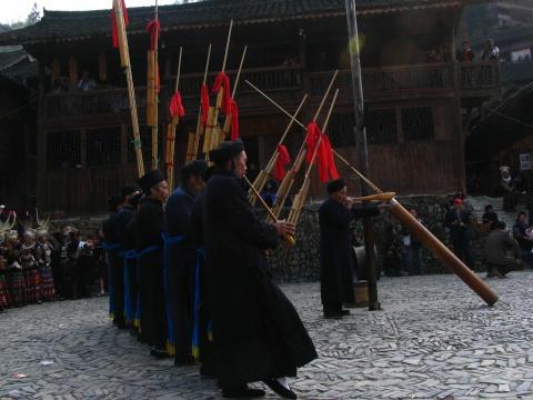 游郎德苗寨 - 娄季初 - 娄季初诗词文集