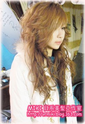 AGEHA小恶魔~日系奶茶色   - miki楚 - MIKI日系美髪工作室-专业日系发型