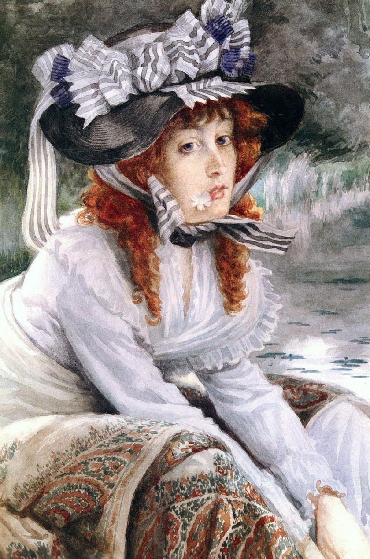 法国新古典主义画家雅姆·蒂索作品鉴赏图片