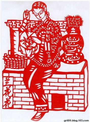 中国梦民族魂剪纸
