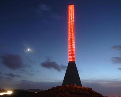 震撼心灵的现代科技杰作---LED方尖塔 - 梦里秦淮 - 周宁(梦里秦淮)的博客