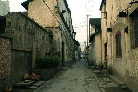 【原创】你到过那条衰落的古街吗?(2007年12月21日) - 吴山狗崽(huangzz) - 吴山狗崽欢迎你的来访