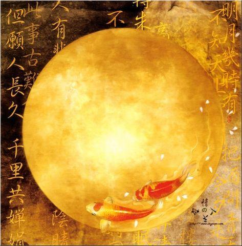 清风拂面(东方画姬德珍画欣赏) - 真水无香  - 香格里拉 花开的地方