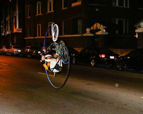 翻跟头自行车 - 李二嫂的猪 - 翱翔的板儿砖