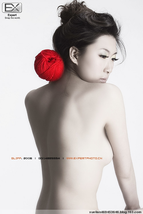 一点红色 万般性感 [绝美人体艺术]  - 小豹子 - 小豹子的博客