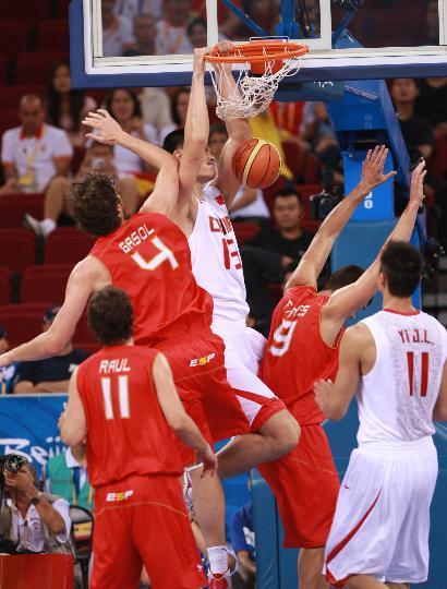 中国男篮:奥运会要学会享受比赛 - 老曾 - 老曾的博客