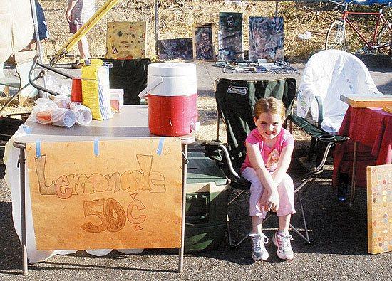 美国小女孩卖柠檬水被赶出集市引全美关注(图)