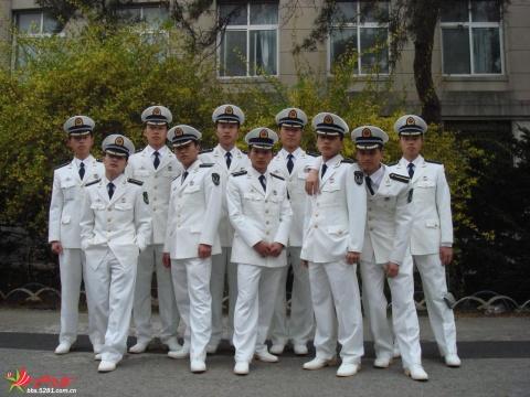 军人相册——大连舰艇学院帅学员 - 披着军装的野狼 - 披着军装的野狼