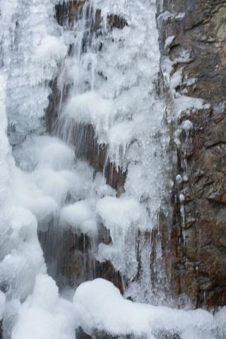 罗坑山的冰瀑 - 汪洋 - 汪洋的博客