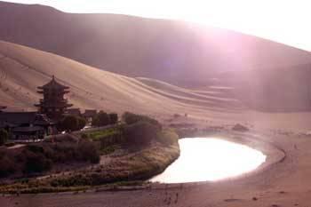 中国最美五大沙漠 - 阳光脚步 - 阳光下的精彩
