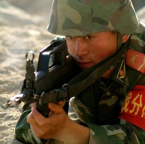 军人图片----边防武警 - 披着军装的野狼 - 披着军装的野狼