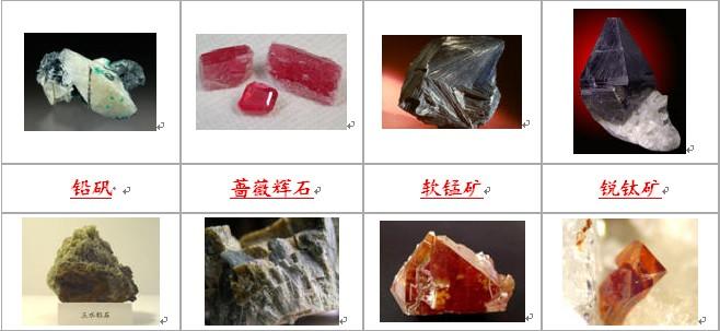标准岩石矿物照片 - 探矿者 - Prospector blog