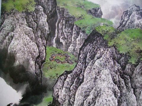 罗昌老师中国山水画技法讲座第十讲 - luochang1688(罗昌之或昌之) - 罗昌书画 时代画廊 的博客