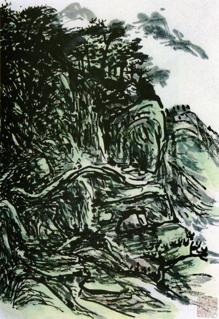 [转载]黄宾虹的艺术特点及鉴赏 - 幽幽 - 君若未忘虚竹好,请来粗茗两三杯