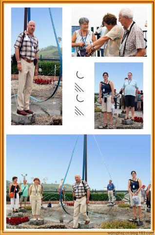 [原创摄影]三峡大坝上的洋老人 - MOMO - MOMO 的博客
