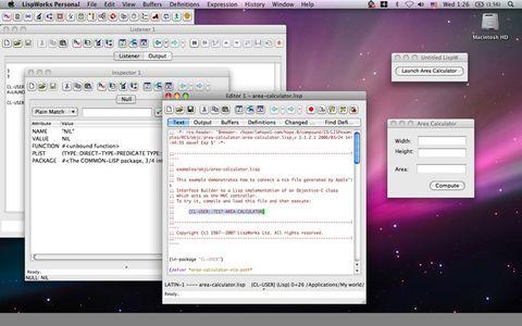 LispWorks supports Leopard - 氷河 - Chun Tian (binghe)