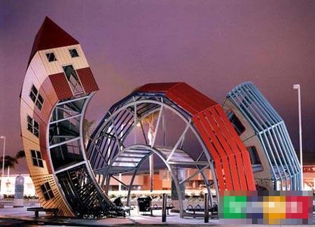 借鉴室内装潢 六大艺术革新的公交车站! - 【七-七】 - 【七-七】的博客