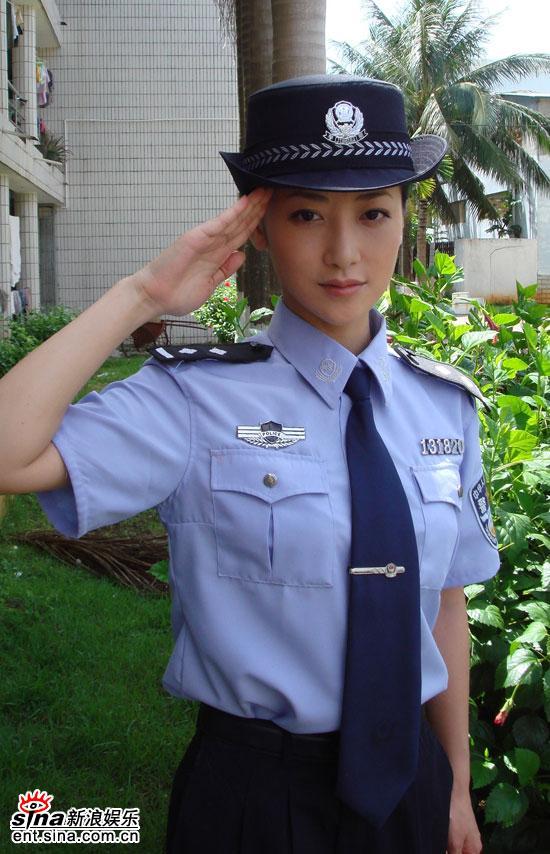 中国各地漂亮警花风采大比拼 - 闻瑞服装培训 - 闻瑞服装运营培训谷