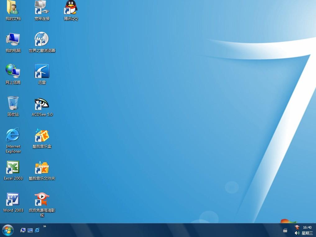 SP3 电脑城Win7美化装机版 v15.0图片