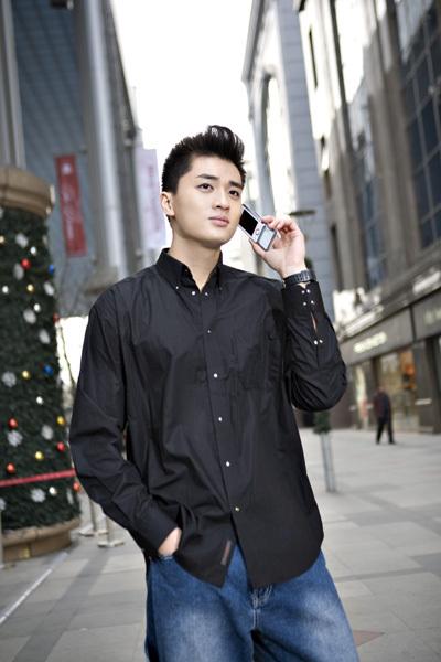 """名模曾昭庆""""联想""""手机平面软宣大片 - 110414 - 左岸麦田の魔男志"""