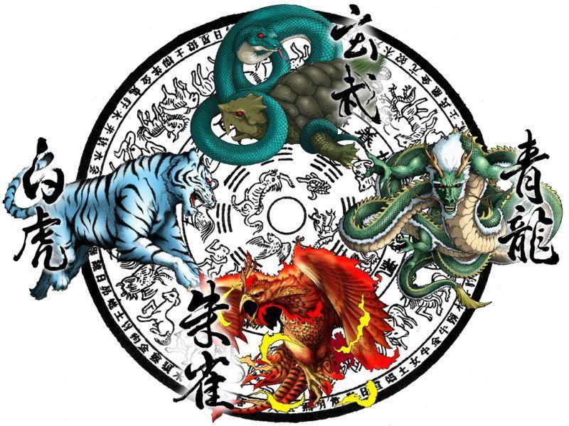 中国古代四大神兽传说(图) - 胡思乱想 - 刚柔相济