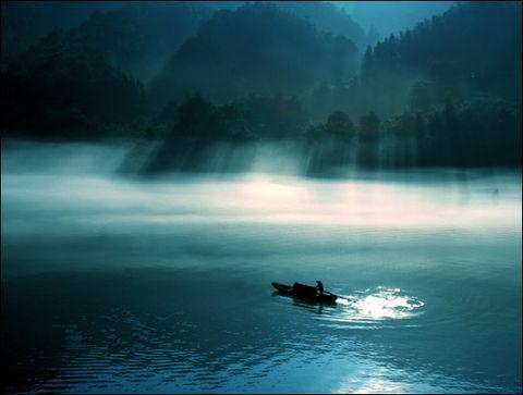 小船儿呀,小船儿  (原创) - 飘逸的云 - 飘渺的云