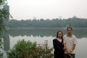 2006年北京大学未名湖畔