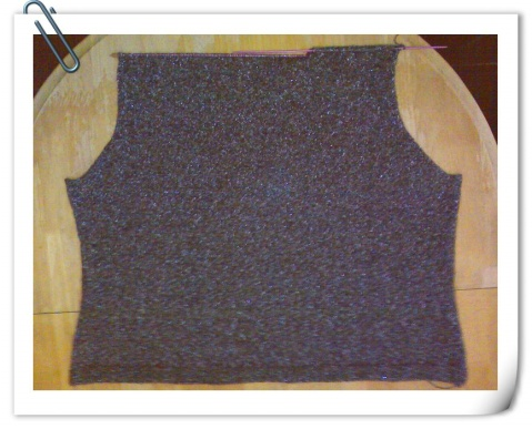 给老妈织开衫(进度左前片挖袋口中……) - 湖畔居 - 湖畔居的博客