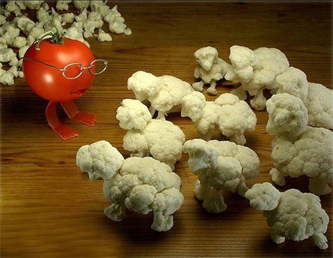 引用 可爱的蔬菜造型艺术 - 半支莲 -